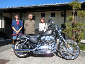岐阜県M様 今日はご家族でありがとうございました。バイクライフを楽しんでください。