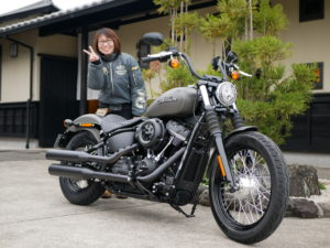 愛知県 N様 バイクが大きくなりましたが気を付けて運転してください。