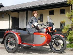 長野県 N様 当社URAL正規ディーラー1号納車です。お気を付けて運転してください。