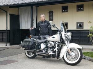 愛知県 S様 久しぶりのオートバイです。お気をつけて楽しんでください。