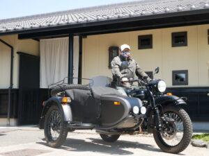 愛知県 I様 世界に一台特別仕様のURALです。今後ともよろしくお願いいたします。