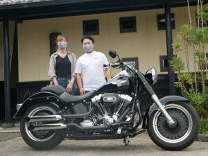 岐阜県 I 様 奥様とタンディムで遊びに来てください。今後ともよろしくお願いいたします。